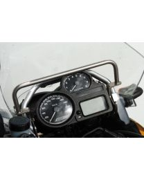 GPS handlebar bracket *tubular* BMW R1200GS up to 2012 above the instruments GPS bracket adapter Bracket for navigation systems