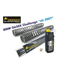 Hyperpro progressive replacement fork springs. BMW G650X Challenge