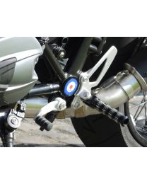 replacement footpegs (set). front for BMW RnineT / RnineT Scrambler
