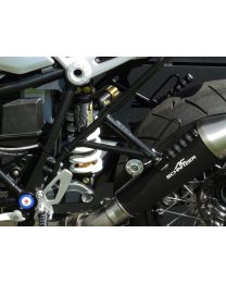 Replacement footpegs (set). rear for BMW RnineT / RnineT Scrambler