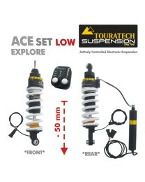 Touratech ACE Suspension Explore SET -50 mm lowering for BMW R1200GS (2004-2012)