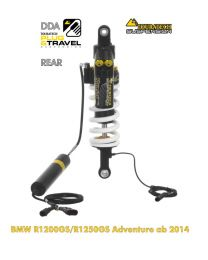 """Touratech Suspension """"rear"""" shock absorber for BMW R1200GS/R1250GS Adventure DDA/Plug & Travel from 2014"""