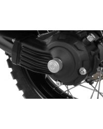 Cover for rear axle. left-hand side for the Yamaha XT1200Z Super Tenere