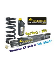 Hyperpro progressive replacement springs for fork and shock absorber. Yamaha XT660R *from 2004*