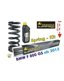 Height lowering kit -35 mm for BMW F800GS/Adventure *from 2013**replacement springs*