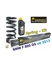 Hyperpro progressive replacement springs for fork and shock absorber. BMW F800GS / Adventure *from 2013*