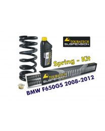 Progressive replacement springs for fork and shock absorber. BMW F650GS (TWIN) 2008-2012 replacement springs