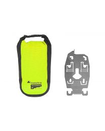 """ZEGA Pro2 accessory holder holder with Touratech Waterproof additional bag """"High Visibility"""". size L"""