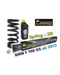 Hyperpro progressive replacement springs for fork and shock absorber. BMW F700GS *from 2013*