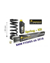 Height lowering kit. 30mm. for BMW F750GS from 2018 replacement springs