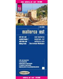 Map Reise-Know-How publishing house Mallorca East 1:40.000