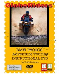 Video DVD Globeriders BMW F800GS Adventure Touring Instructional DVD