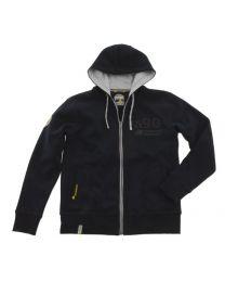 "Sweat jacket ""Adventure Equipment"" men. blue. size XL"