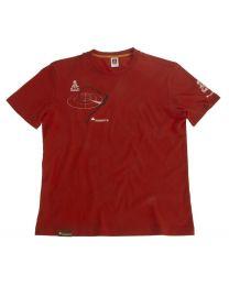 """Dakarâ""""¢ T-shirt """"Radar"""" men. red. size XXL"""