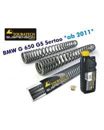 Progressive fork springs for BMW G650GS Sertao *from 2011*