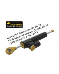 """Touratech Suspension Steering Damper """"Constant Safety Control"""" for KTM 1090 Adventure (R) ab 17/1290 Super Adventure (T/S/R) ab 15/1190 Adventure (R) 13-15 incl. installation kit"""