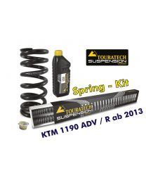 Progressive replacement springs for fork and shock absorber. KTM 1190 Adventure R from 2013 *replacement springs*