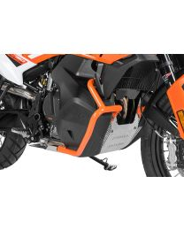 Tank crash bar stainless steel. orange for KTM 790 Adventure/ 790 Adventure R