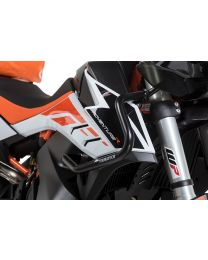 Stainless steel fairing crash bar, black for KTM 790 Adventure/790 Adventure R