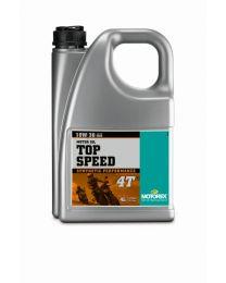 Motorex oil - Top Speed 4T 10W/30 - 4 Ltr.