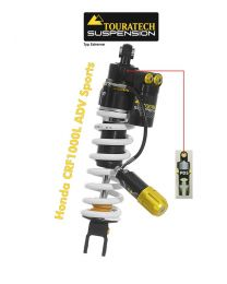 Touratech Suspension shock absorber for Honda CRF 1000L Adventure Sports from 2018 type Extreme