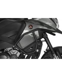 Stainless steel crash bar for Honda VFR1200X Crosstourer . black