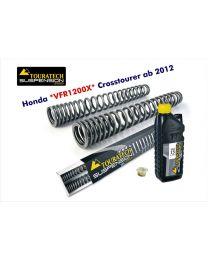 Progressive fork springs for Honda VFR1200X Crosstourer *from 2012*