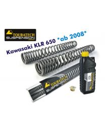 Progressive fork springs for Kawasaki KLR650 from 2008