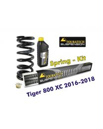 Progressive replacement springs for fork and shock absorber. für Tiger 800 XC / XCx / XCa 2016-2018