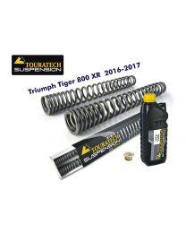 Progressive fork springs for Triumph Tiger 800 XR / XRt / XRx 2016-2017