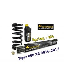 Progressive replacement springs for fork and shock absorber. für Tiger 800 XR / XRt / XRx 2016-2017