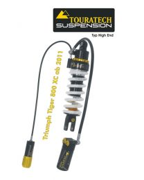 Touratech Suspension shock absorber for Triumph Tiger 800 XC (2011-2014) type HighEnd