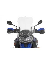 Windscreen. L. transparent. for Triumph Tiger 800/ 800XC/ 800XCx (-2017)