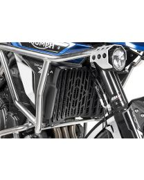 Radiator guard. black anodized for Triumph Tiger Explorer from 2016