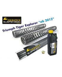 Progressive fork springs for Triumph Tiger Explorer *from 2012*