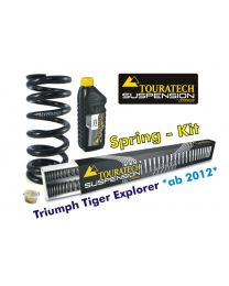 Hyperpro progressive replacement springs for fork and shock absorber. Triumph Tiger Explorer *from 2012*