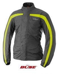 Rain jacket. black/yellow. size  XL