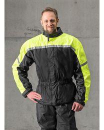 Rain jacket with membrane. black size:s