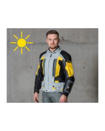 Compañero Summer. jacket men. standard size. yellow size:46