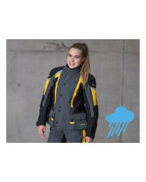 Compañero Weather. jacket women. standard size. yellow size:36
