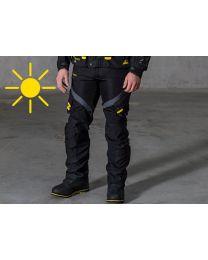 Compañero Summer. trousers men. standard size. black size:46