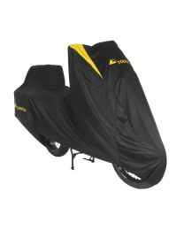 Touratech Indoor 'Super Soft' tarpaulin cover for long-distance Enduros with cases
