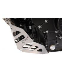 Engine guard panel SCR BMW F800R. natural aluminium