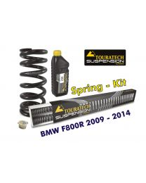 Hyperpro progressive replacement springs for fork and shock absorber. BMW F800R 2009-2014 *replacement springs*
