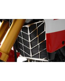 Stainless steel radiator shield for Ducati Multistrada 1200 up to 2014