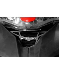 Oil cooler guard. anodised black. for Ducati Multistrada 1200 up to 2014