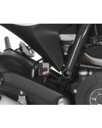 Rear brake fluid reservoir guard for Ducati Scrambler