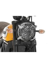 Headlamp guard. aluminium. with quick release fastener for Ducati Scrambler