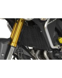 Radiator guard for Yamaha MT-09 Tracer. aluminium. black