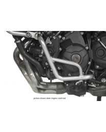 Engine crash bar. stainless steel black. for Yamaha MT-09 Tracer